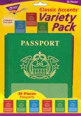 Passports Variety Pack Classic Accent