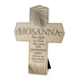 Hosanna, Our God Saves Cross