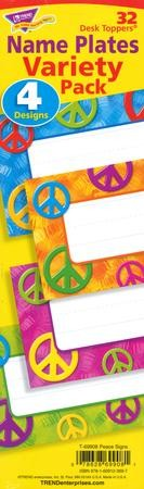 Peace Signs Desk Toppers Value Pack