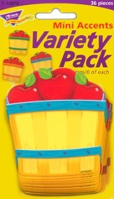 Apple Baskets Mini Variety Pack Classic Accent