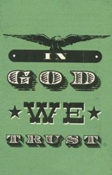 In God We Trust, Pack of 25 Tracts