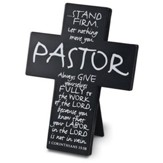 Pastor--Metal Cross