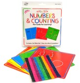 Wikki Stix Numbers Cards