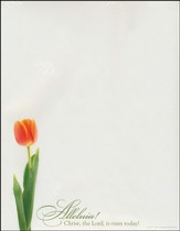 Christ the Lord Is Risen Today, Letterhead, 100