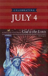 One Nation Under God, July 4th (Psalms 33:12) Bulletins, 100