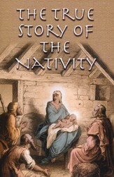 True Story of the Nativity (NASB), Pack of 25 Tracts