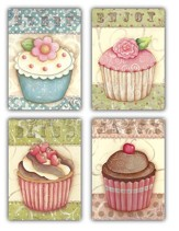 Sweet Celebrations, Box of 12 Assorted Birthday Cards