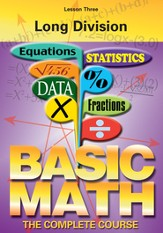 Basic Math Series: Long Division DVD