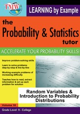 Random Variables & Introduction to Probability Distributions DVD