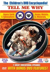 Tell Me Why: Space, Earth &  Atmosphere & Gems, Metals & Minerals DVD