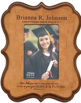 Personalized, Graduation Photo Frame, Cherry