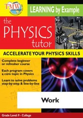 Physics Tutor: Work DVD