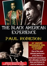 Paul Robeson: 20th Century Renaissance Man, Entertainer & Activist DVD