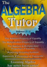 Algebra Tutor Series 5 DVD Set (Volumes 1 - 5)