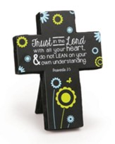 Trust In the Lord With All Your Heart Cross, Small