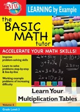 Basic Math Tutor: Learn Your Multiplication Tables DVD