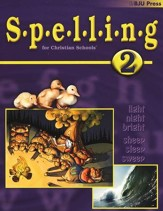 BJU Spelling 2, Student Worktext