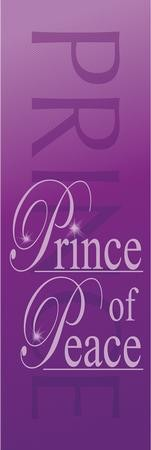 Prince of Peace Fabric Banner (2' x 6')