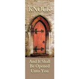 Knock Fabric Banner (2' x 6')
