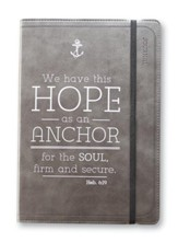 We Have This Hope As An Anchor, Journal, Black