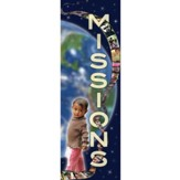 Missions Fabric Banner (2' x 6')