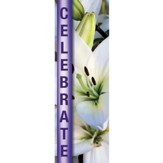 Celebrate - Easter Fabric Banner (2' x 6')