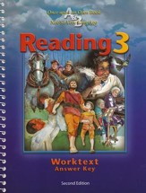 BJU Reading Grade 3, Worktext Teacher's Edition