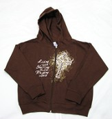Trusting In Christ Zippered Hoodie,  Youth Small (6-8)