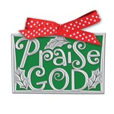 Praise God Word Ornament