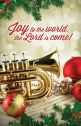 Joy To The World, Christmas Bulletins, 100