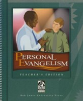 BJU Personal Evangelism and Discipleship, Teacher's Edition
