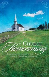 Church Homecoming (Galatians 3:26) Bulletins, 100