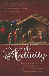 The Nativity (John 3:16) Bulletins, 100