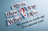 Where How What When Who (Genesis 31:49) Missed You Postcards, 25