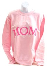 Blessed To Be A Mom Sweatshirt, Large (42-44)