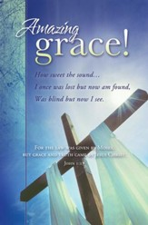 Amazing Grace (John 1:17) Bulletins, 100
