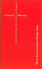 Common Worship: Holy Communion Order One Large Format