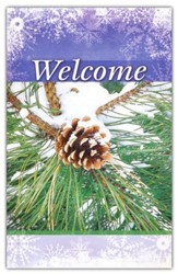 Welcome (Pinecone), Welcome Pew Cards, Package of 25