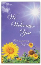 We Welcome You, Welcome Pew Cards Package of 25