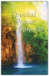 Special Prayer Request (Waterfall)Pew Cards Package of 25