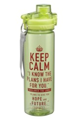 Keep Calm, Water Bottle