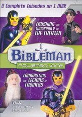 Bibleman Powersource: Crushing the Conspiracy of the Cheater /  Lambasting the Legions of Laziness, DVD