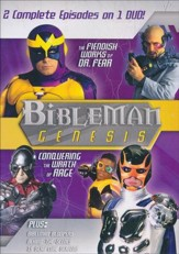 Bibleman Genesis: The Fiendish Works of Dr. Fear / Conquering  the Wrath of Rage, DVD