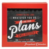 Commit To the Lord Whatever You Do And Your Plans Will Succeed Perpetual Calendar