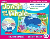 Jonah and the Whale Jumbo Floor Puzzle & Music CD