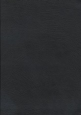 NASB MacArthur Study Bible  Black Bonded Leather, Thumb-Indexed
