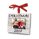 2017 Christmas, Photo Frame Ornament