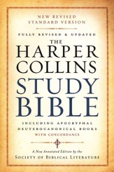 NRSV HarperCollins Study Bible with Apocrypha, Revised, softcover