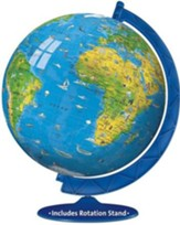 Children's World Globe 3D Puzzle and Stand