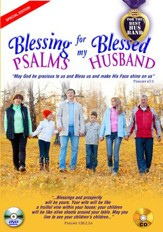 Blessing Psalms for My Blessed Husband (Couple on Cover): DVD & CD